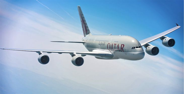 Qatar Airways will use an A380 super-jumbo for its Atlanta inaugural flight.(Image: Qatar Airways)