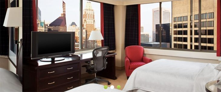 A room at the Radisson Baltimore Downtown-Inner Harbor. (Image: Radisson)