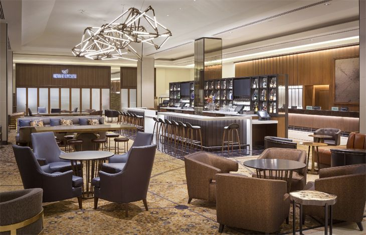 The new lobby bar at the Hilton San Francisco Union Square. (Image: Hilton)