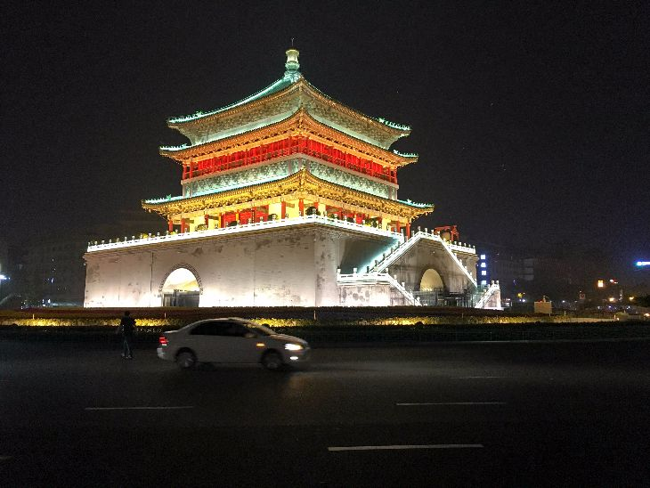 Bell Tower of Xi'an (Photo: Dan Erwin)