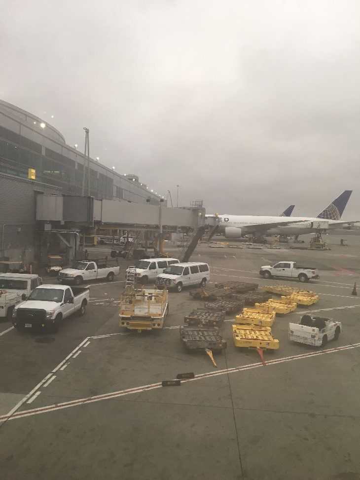 Foggy arrival at SFO (Photo: Dan Erwin)