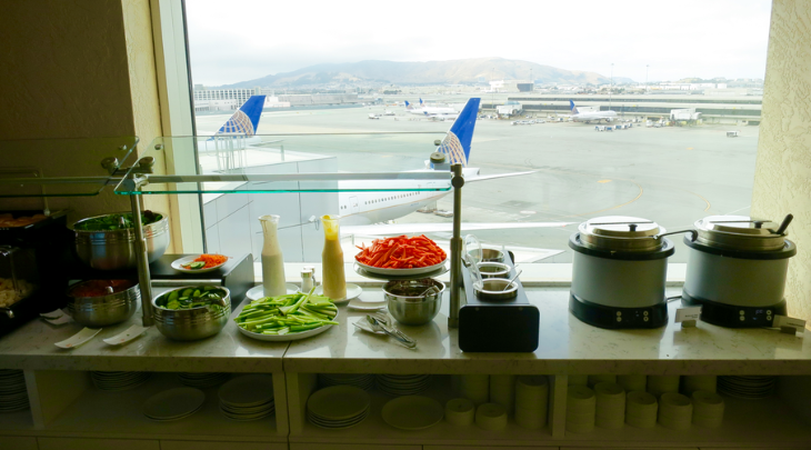 United Club food