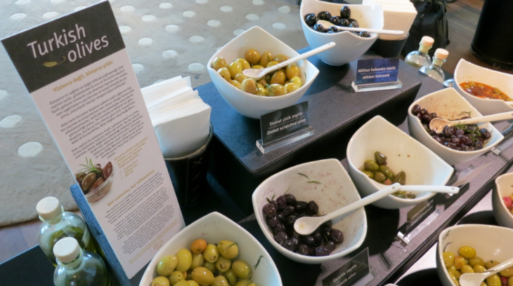 Turkish Airlines Olive Bar