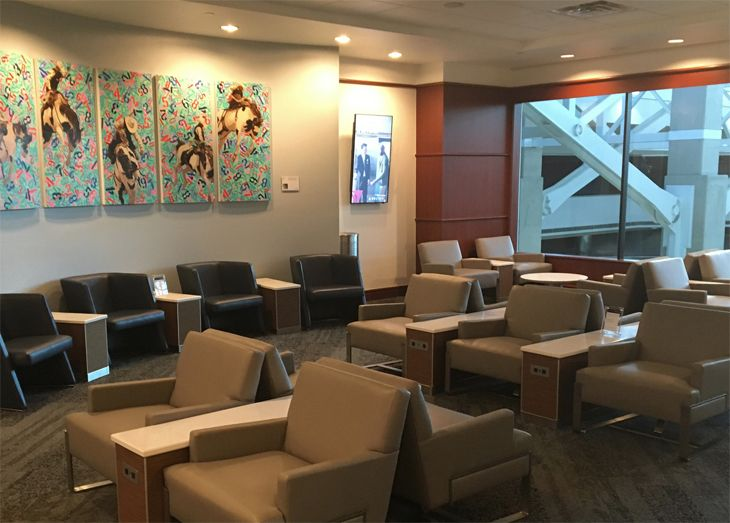 Delta's new Sky Club at Denver International. (Image: Delta)