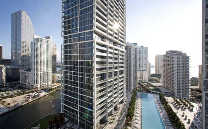 The former Viceroy Hotel in Miami is now one of Starwood's W properties. (Image: Starwood)