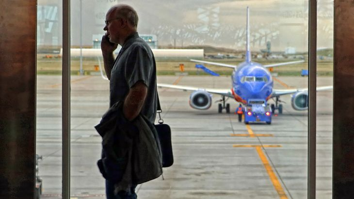 Restrictive travel policies can lead to employee burnout. (Image: Jim Glab)