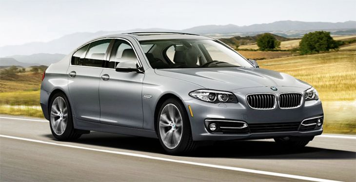Lyft's new Premium service includes cars like the BMW 5 Series. (Image: BMW USA)