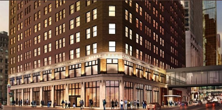 Downtown Minneapolis is home to a new Embassy Suites from Hilton. (Image: Hilton)