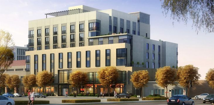 The independent Halcyon Hotel is in Denver's Cherry Creek North district. (Image: Halcyon)