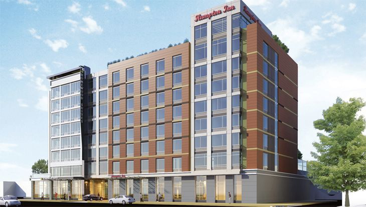 Hilton's new dual-branded Washington D.C. hotel is near Union Station. (Image: Hilton)
