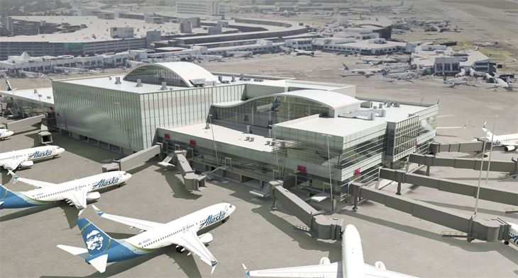 Sea-Tac's North Satellite will get eight more gates. (Image: Port of Seattle)