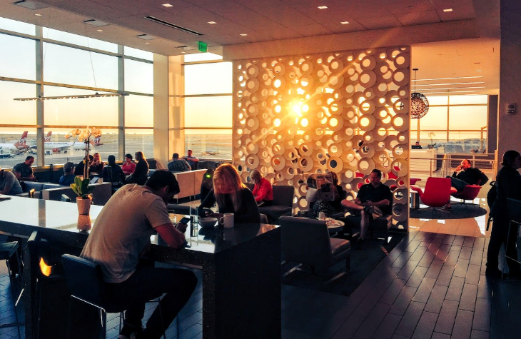 Delta Sky Club San Francisco