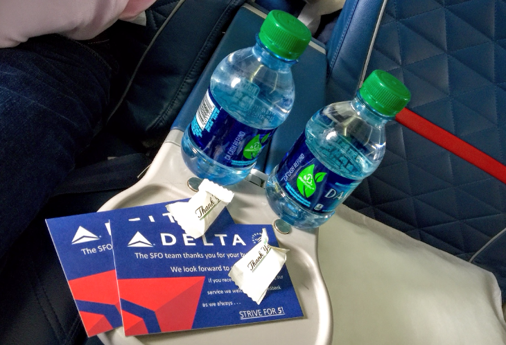 Delta bottled water