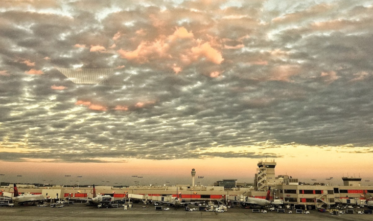 The view from the United Club at ATL (Chris McGinnis)