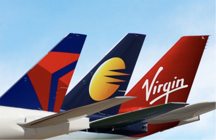 Delta's code-sharing with India's Jet Airways is expanding to London and to Virgin Atlantic. (Image: delta)