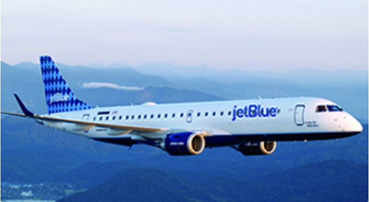 JetBlue will use E190s for its new LaGuardia_Boston flights. (Image: JetBlue)