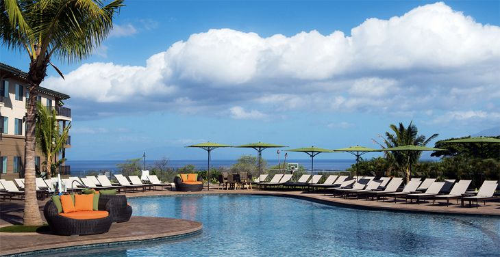 The pool at Marriott's new Residence inn in Maui (Image: Marriott)
