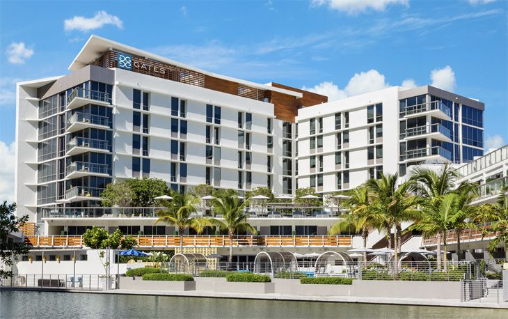 Hilton's new DoubleTree in Miami's South Beach (Image: DoubleTree)