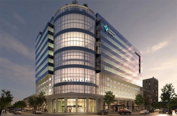 Buffalo's new Westin is in the heart of downtown. (Image: Westin)