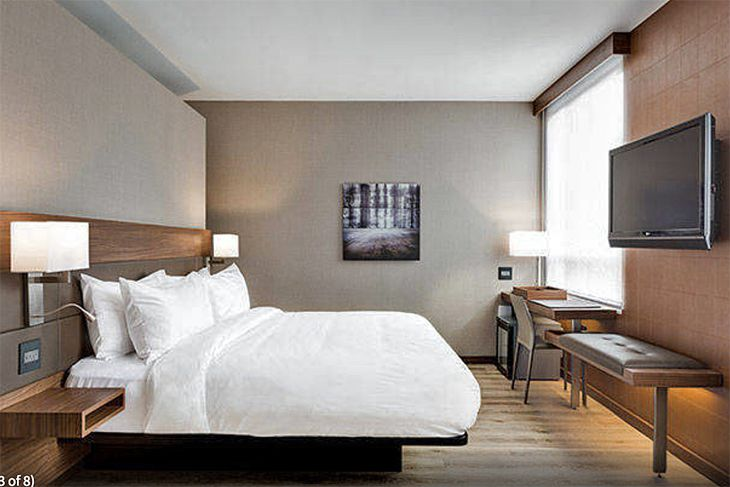 A King room at Marriott's new AC Hotel in Minneapolis. (Image: Marriott)