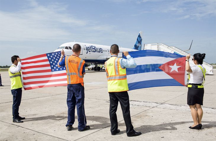 Havana this week became the 100th point on JetBlue's route map. (Image: JetBlue)