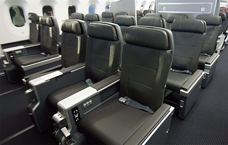 American's new premium economy seating is on 787-9s in more markets. (Image: American Airlines).