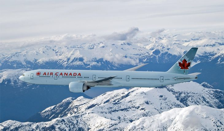 Air Canada uses a 777-300ER on its Vancouver-Hong Kong route. (Image: Air Canada)