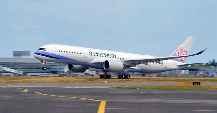 China Airlines will put a new Airbus A350 onto its San Francisco-Taipei route next spring. (Image: Airbus)