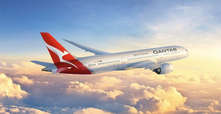 Qantas' first 787-9 will enter service to LAX next year. (Image: Qantas)