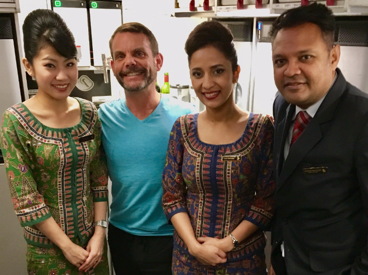 TravelSkills reader Jason Vaudrey reports from a Singapore Air A350 (