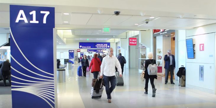 Dallas/Ft. Worth's renovated Terminal A. (Image: DFW Airport)