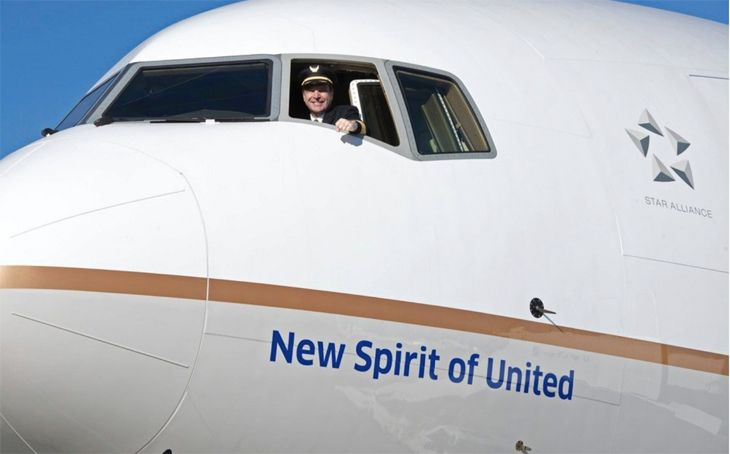 United's first 777-300ER will debut February 13. (Image: United)