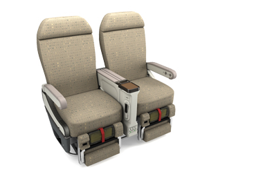 Image of Zodiac Aerospace seat model 5810 (Image: Zodiac)
