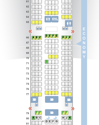Seatguru shows seat 21D in green-- as having extra legroom