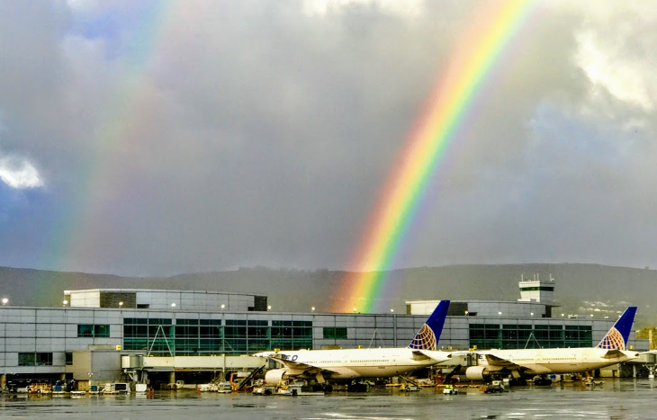 SFO rainbow United
