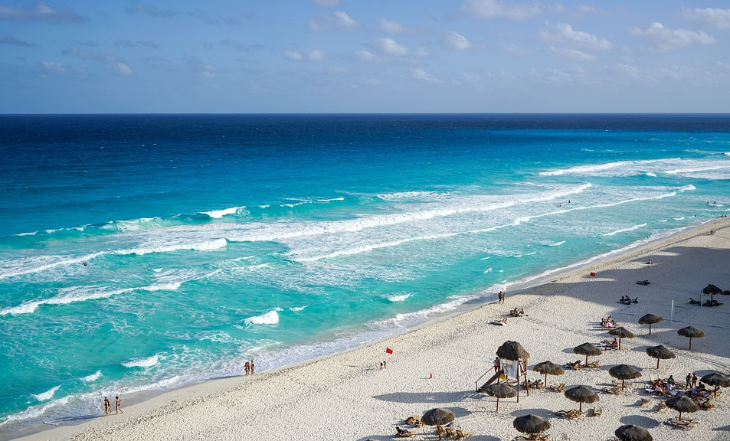 Beaches near Cancun, Mexico (Photo: Maria Michelle / Pixabay)