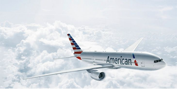 American plans to use a 777-200 on its LAX-Beijing route if it ever gets slots from the service. (Image: AA)