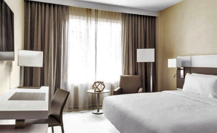 A room at Marriott's new AC Hotel in San Jose. (Image: Marriott)