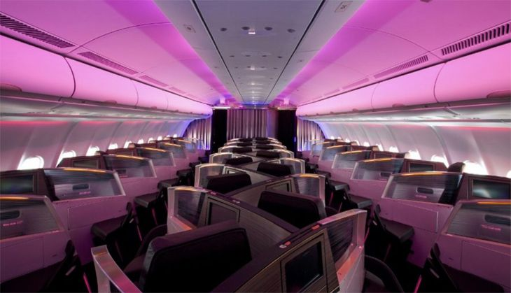 This old Upper Class cabin on Virgin Atlantic's A330s is being replaced. (Image: Virgin Atlantic)