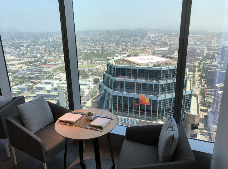 Tallest Hotel In The West Opens Intercontinental Los Angeles Downtown