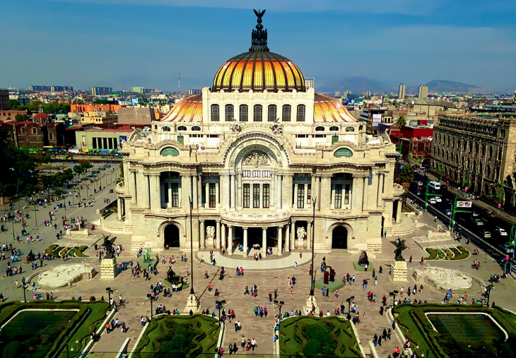 Mexico City Bellas Artes
