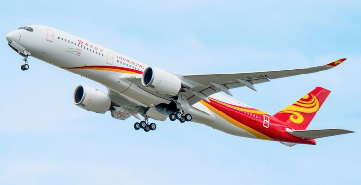 Hong Kong Airlines Airbus A350