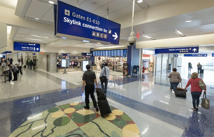 Dallas  Ft. Worth s Terminal E has been thoroughly renovated. (Image  DFW  Airport) 8642c60f56