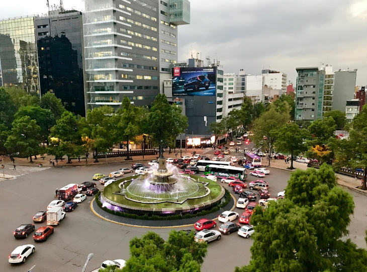 Roundabout Mexico