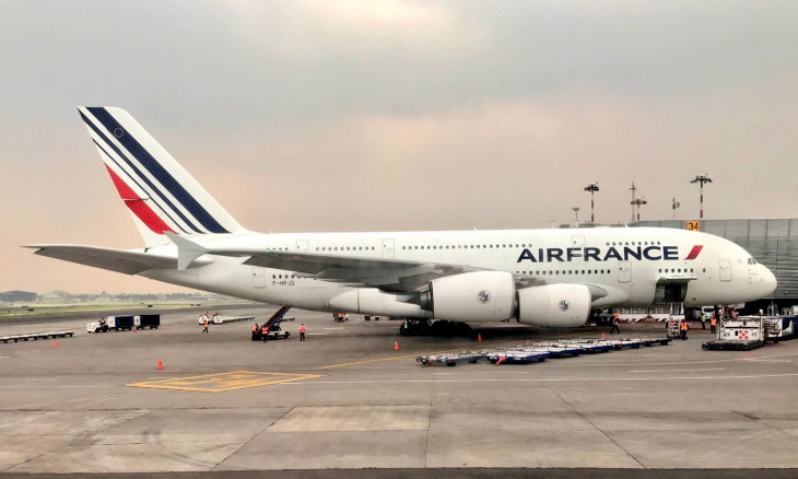 Air France A380 Mexico City