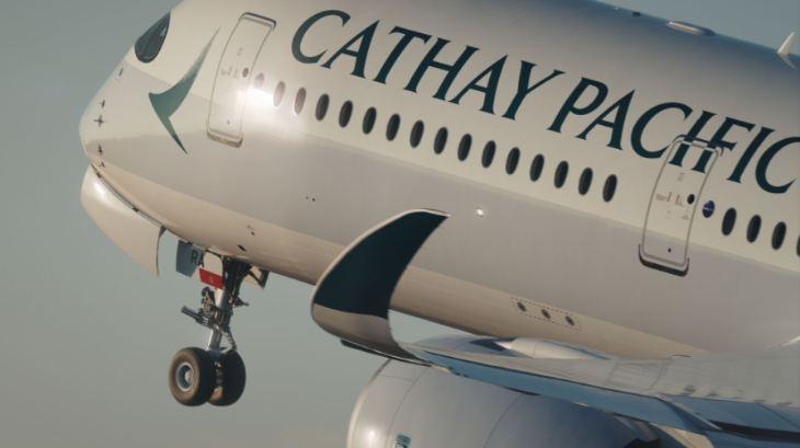 Cathay Pacific A350 wing