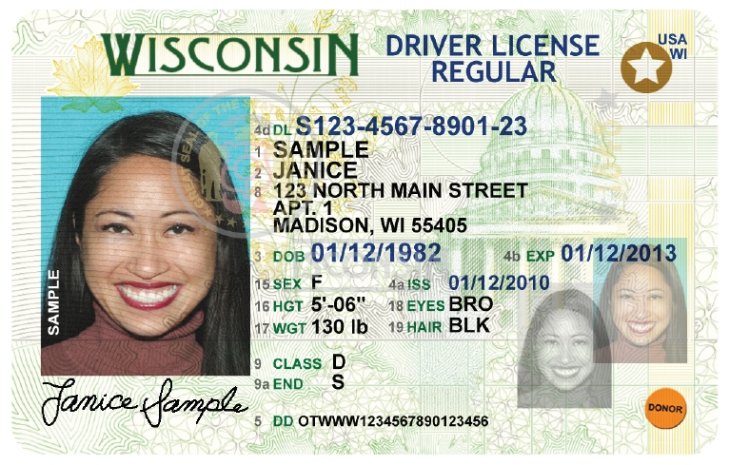 Real ID compliant license